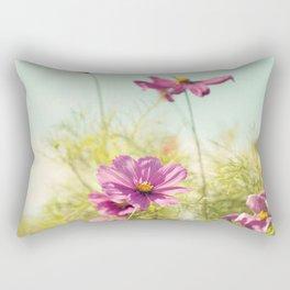 summer cosmos Rectangular Pillow