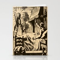 sandman Stationery Cards featuring The Sandman by DOOMSDAY
