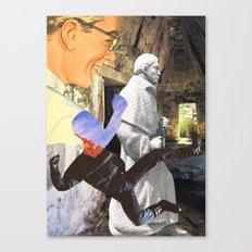 Spiritual Freefall Canvas Print