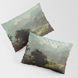 Lake Lucerne by Albert Bierstadt Pillow Sham