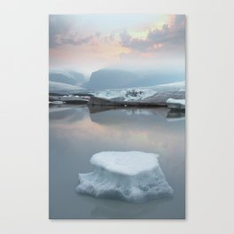 Iceland Glacial Lagoon Canvas Print