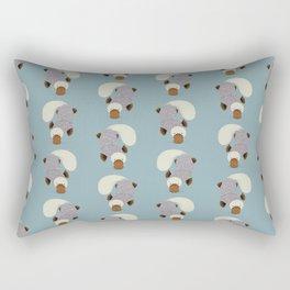 Whimsical Platypus Rectangular Pillow