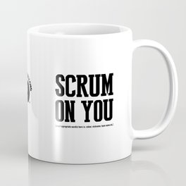 Staricons rugby typo series - Scrum Coffee Mug