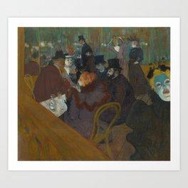 Henri de Toulouse-Lautrec - Salon Art Print