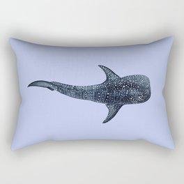 WHALE SHARK (light blue II) Rectangular Pillow