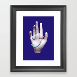Face Palm Framed Art Print