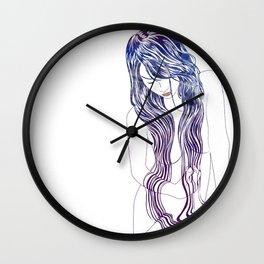 Tresses Wall Clock