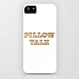 Pillow Talk - Hotel - Wall-Art for Hotel-Rooms iPhone Case