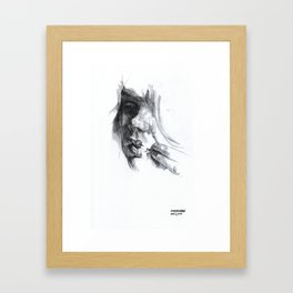 NaNoDrawMo 2010 - 11 Framed Art Print