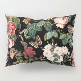 Floral and Butterflies Pillow Sham