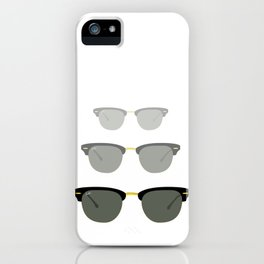 Clubmaster iPhone Case