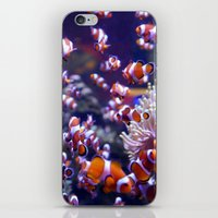 nemo iPhone & iPod Skins featuring Nemo by Arielle Walker