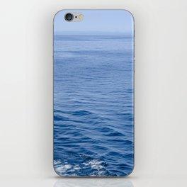She Fell in Love on the Vast Wild Sea iPhone Skin