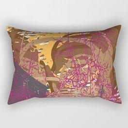 Rise and Fall Rectangular Pillow