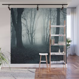blue forest Wall Mural