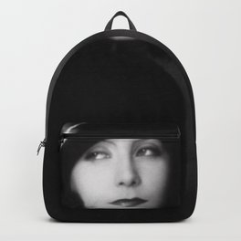 Greta Garbo, Hollywood Starlet black and white photograph / black and white photography Backpack
