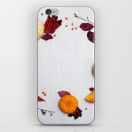 Pumpkin Spice iPhone Skin