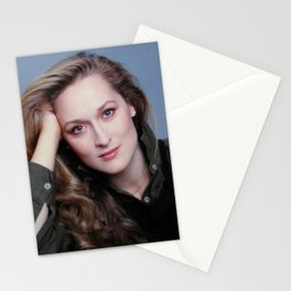 MERYL STREEP FULL COLOR Stationery Cards