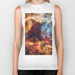 Grand Star Forming (Tarantula Nebula) Biker Tank