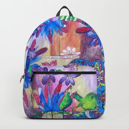 Live Gently Upon This Earth Backpack