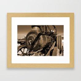 The Burrell Engine Framed Art Print
