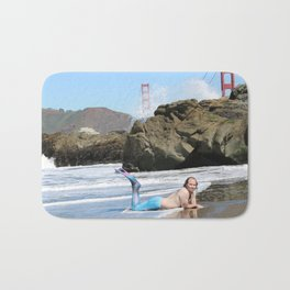 San Francisco Merman Bath Mat