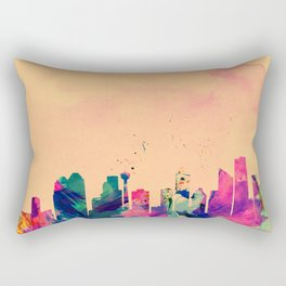 YYC in Colour Rectangular Pillow