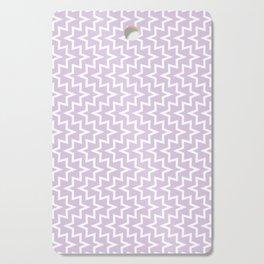 Sea Urchin - Light Purple & White #922 Cutting Board