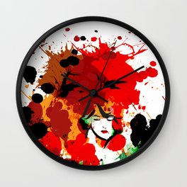 leena Wall Clock