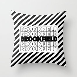 Brookfield USA CITY Funny Gifts Throw Pillow