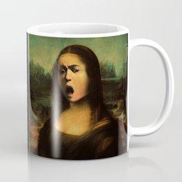 Caravaggio's Mona Lisa Coffee Mug