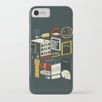 221b iPhone & iPod Cases featuring 221B by Nina Martinez