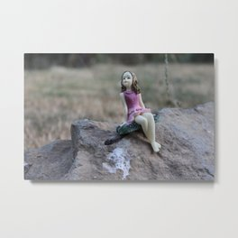 Found by the road Metal Print
