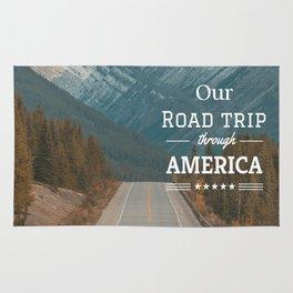 American Road Trip Rug