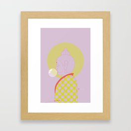 Buddha : Concentrate on the Void! (PopArtVersion) Framed Art Print