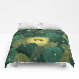 Enchanted Forest Baby Fawn Comforters