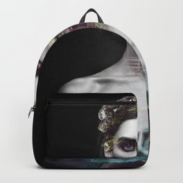Home portrait nature Backpack