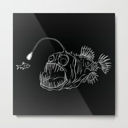 The Angler Metal Print