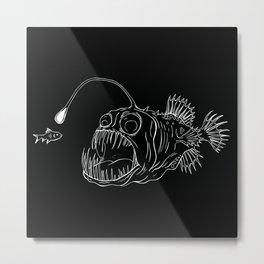 The Angler Metal Print