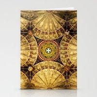 kaleidoscope Stationery Cards featuring Kaleidoscope by Irina Chuckowree
