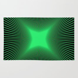 The Emerald Illusion Rug