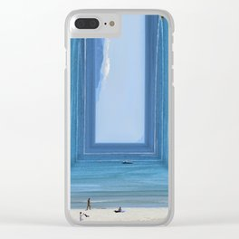 Sandbox Clear iPhone Case