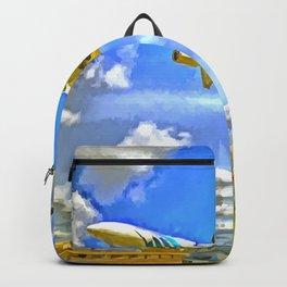 Airliner Pop Art Backpack