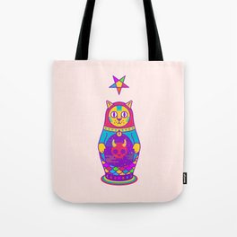 Malevolent Kitty Tote Bag
