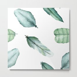 Feather Your Nest Metal Print