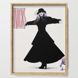 stevie nicks - rock a little cover - Serving Tray