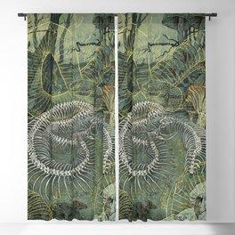 Green Bone Blackout Curtain