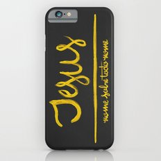 Jesus - nome sobre todo nome Slim Case iPhone 6s