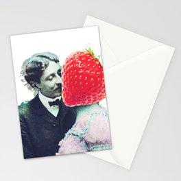 Strawberry love Stationery Cards