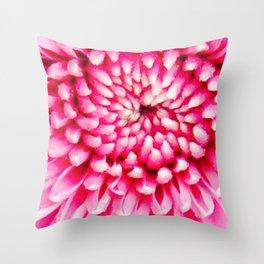 Cherry Pie Dahlia Throw Pillow